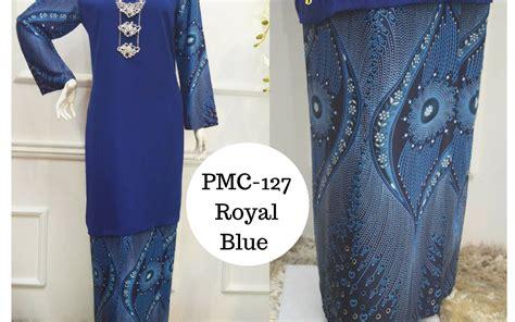 Kebaya Ba 127 baju kurung moden pucci batik 2017 koleksi pmc as