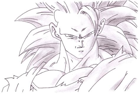 imagenes de goku transformandose en ssj3 dibujos anime goku ssj3