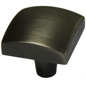 black square cabinet knobs shop allen roth iron black square cabinet knob at lowes com