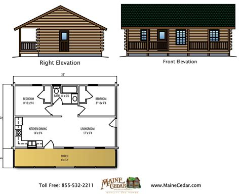 cedar cabin floor plans retreat cedar log cabin maine cedar log homes