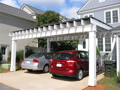 Pergola Style Carport by Solar Pergola Blue Green House