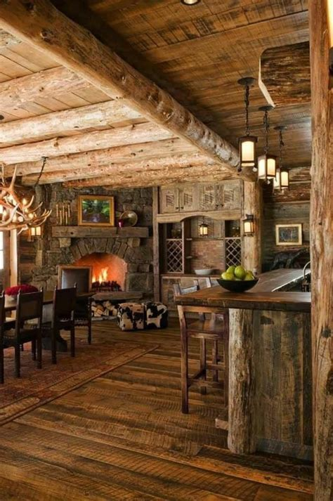 rustic home interior ideas best 25 log cabin kitchens ideas on cabin