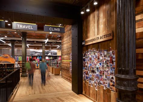 Out Door Store by Rei Retail Store By Callison New York 187 Retail Design