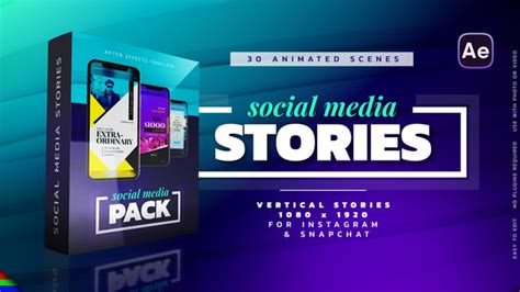 Instagram Stories Commercials Envato Videohive After Effects Templates Instagram Story Template After Effects