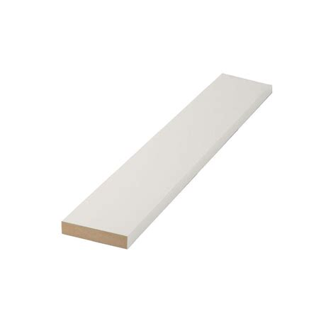 mdf home depot finished elegance 1 in x 2 in x 8 ft mdf moulding board 10003242 the home depot