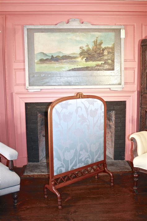 nouveau fireplace screen for sale at 1stdibs