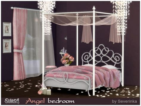 angel bedroom sims by severinka angel bedroom sims 4 downloads