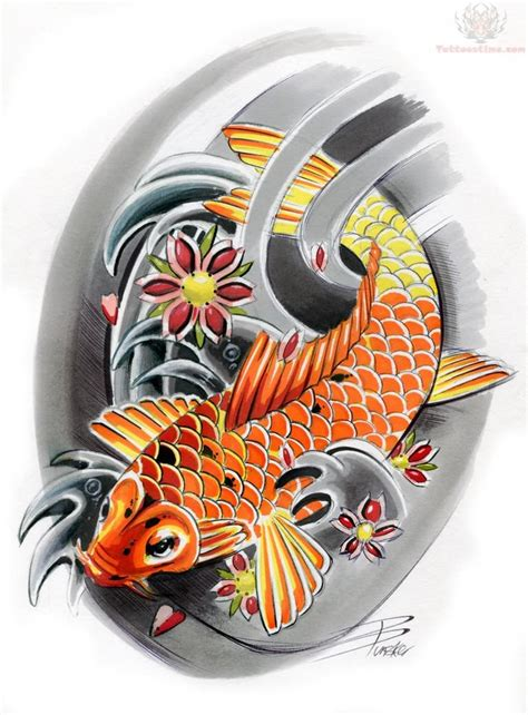japanese koi fish tattoo design koi tattoos design ideas pictures gallery