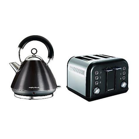 Range Toasters Morphy Richards Metallic Accents Kettle Toaster Range