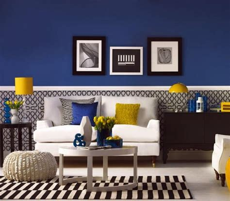 Yellow Blue And Green Living Room 20 Charming Blue And Yellow Living Room Design Ideas Rilane