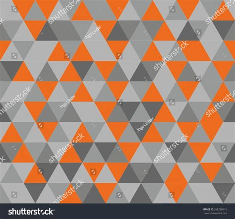 pattern orange grey pics for gt grey triangle pattern background