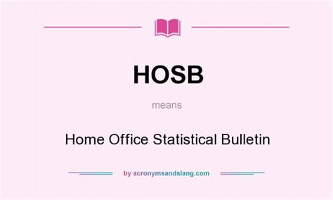 home office meaning what does hosb mean definition of hosb hosb stands