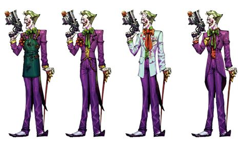 in color dc lineup joker line up by chuckdee on deviantart