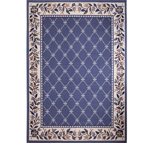 Area Rugs Blue by Home Dynamix Geometric Country Blue Area Rug Reviews
