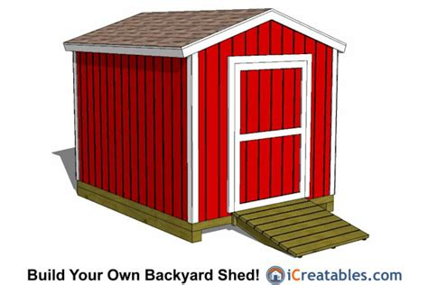How To Build A 8x10 Shed by 8x10 Backyard Shed