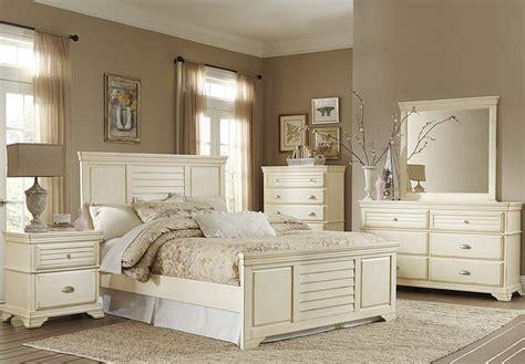 Antique White Bedroom Set by Laurinda Antique White Panel Bedroom Set From Homelegance