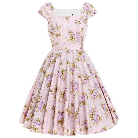 lilac swing dress lilac dress swing dress romantic dress bridesmaid dress floral