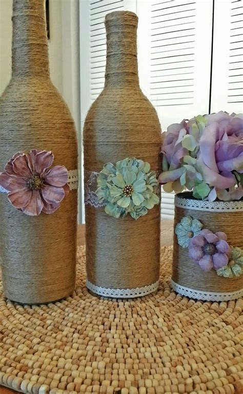 how to a wine bottle l upcycle your wine bottles into shabby chic