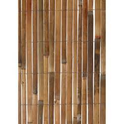gardman split bamboo privacy panel fencing at hayneedle