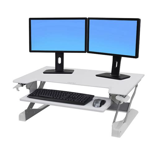 ergotron adjustable height desk workfit tl adjustable standing desk datanet
