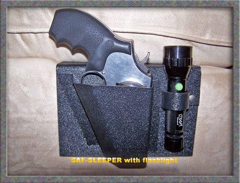 bed holster saf sleeper holster w flashlight holder nighthawk protects