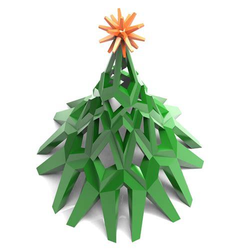 printable christmas tree 3d christmas tree 3d model 3d printable stl cgtrader com
