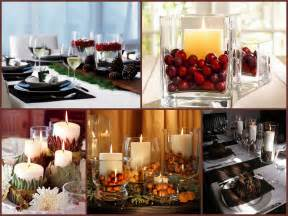Adding a simple dandle decor to your table decor creates a very cozy