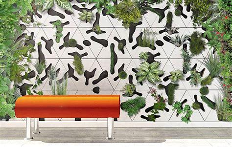Modular Concrete Green Wall Tiles For Indoor Outdoor Garden Wall Tiles