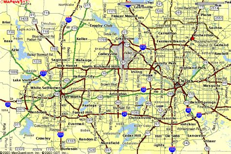 map of fort worth texas and surrounding areas dallas fort worth subway map travelsfinders