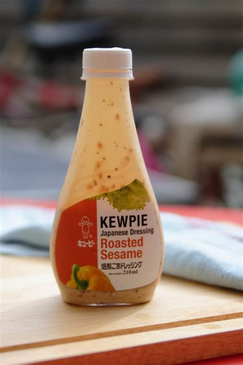 kewpie roasted sesame dressing ingredients your basic green salad with walnuts and sesame dressing