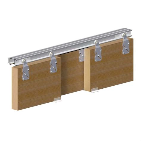 Sliding Rail horus top hung sliding door system wardrobe track kit