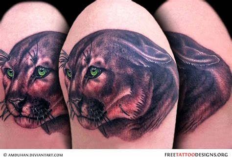 big cat tattoos panther tattoos black panther designs