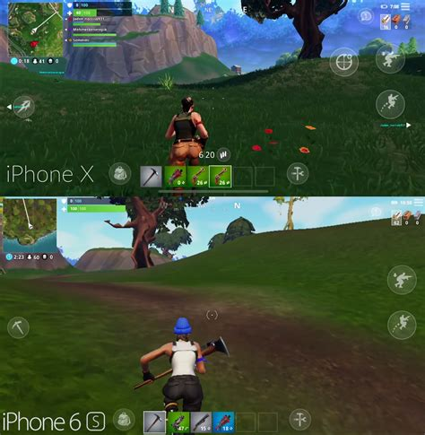 fortnite mobile compared to the home console and pc versions what are the differences