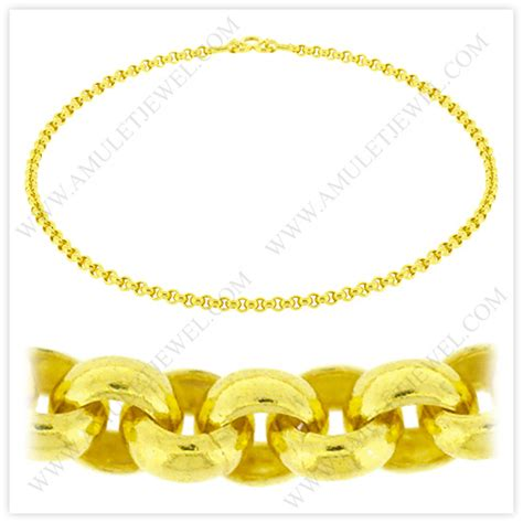 nm 0009 1baht 1 baht polished solid rolo chain necklace