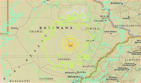 earthquake zimbabwe 6 5 magnitude tremor hits botswana botswana youth magazine