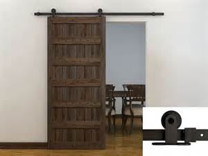 Barn Door Slide Hardware 6ft Coffee Modern European Style Barn Wood Sliding Door Hardware Track Set In Doors From