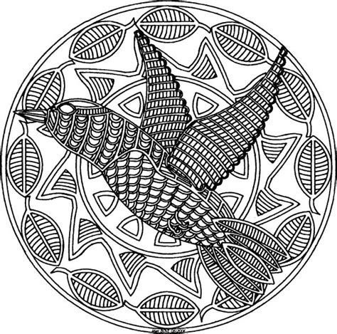 bird mandala coloring pages 101 ideas 25 mandala coloring pages