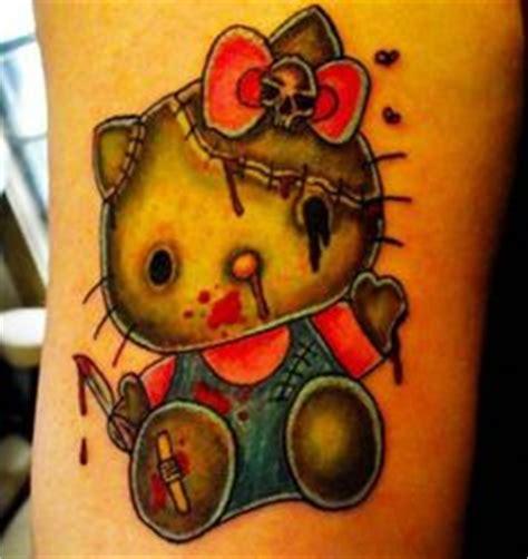 new school hello kitty tattoo hello kitty tattoos on pinterest hello kitty sanrio and