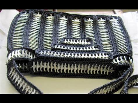 como elaborar bolsas con fichas como hacer una bolsa de anillas de lata bolso