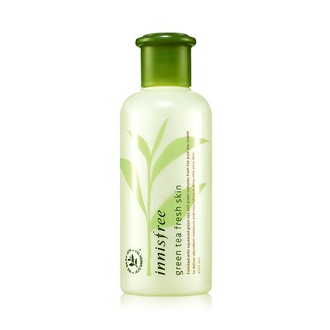 innisfree green tea fresh skin 200ml 2014 upgrade