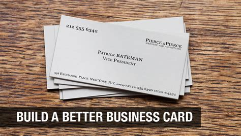 Build A Business Card