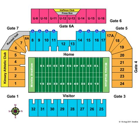 michie stadium seating chart army football tickets michie stadium seating chart