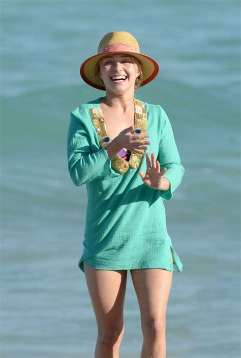 Dont Call Hayden Panettiere Lindsay Lohan by Hayden Panettiere At The In Miami Gotceleb