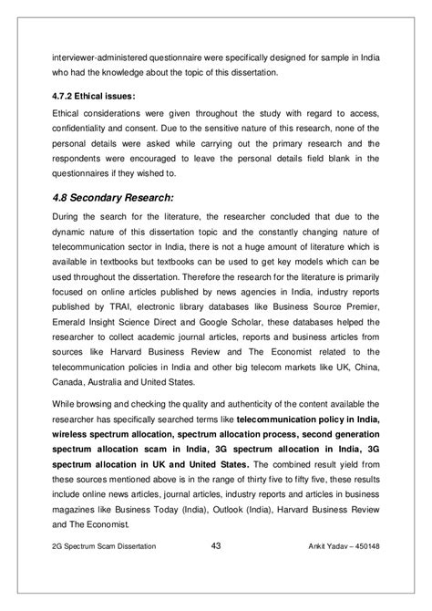 dissertation ethics statement exle thesis statement for cause and effect essay excellent