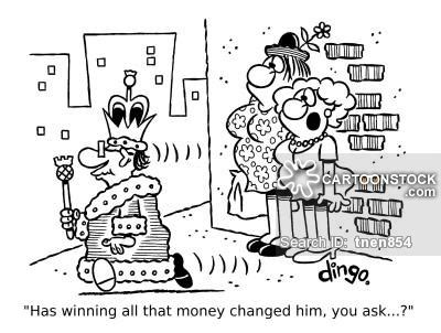 Dreams About Winning Money - lottery winning cartoons and comics funny pictures from
