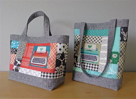tutorial videos for quilting and tote bags patterns by elizabeth hartman perfect quilted totes pdf