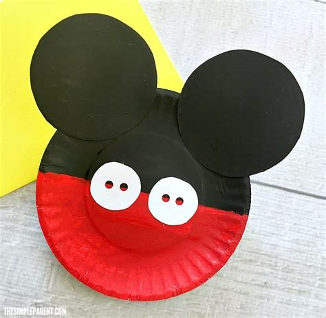 mickey mouse crafts for easy mickey mouse clubhouse theme ideas for