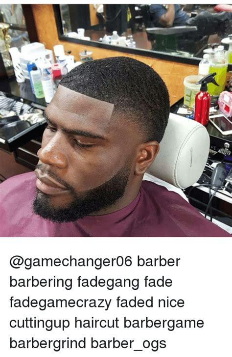 barber barbering fadegang fade fadegamecrazy faded nice