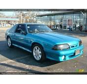 1993 Ford Mustang SVT Cobra Fastback In Reef Blue Metallic