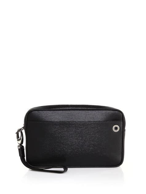 Bag Mont Blanc montblanc westside clutch bag in black for lyst